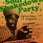 Soul Shakedown Party poster design